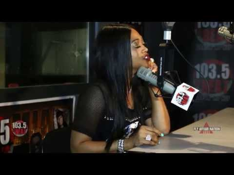 [EXCLUSIVE] Part 2: K.Foxx chops it up with Trina about her dream Man, if size matters?