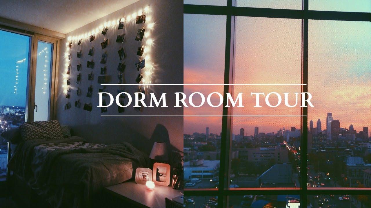Dorm Room Tour | Temple University | Taylor Sison   YouTube Part 5