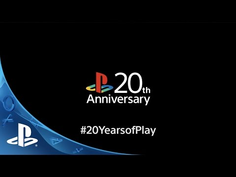 20 Years of Play: PlayStation's North America 20th Anniversary