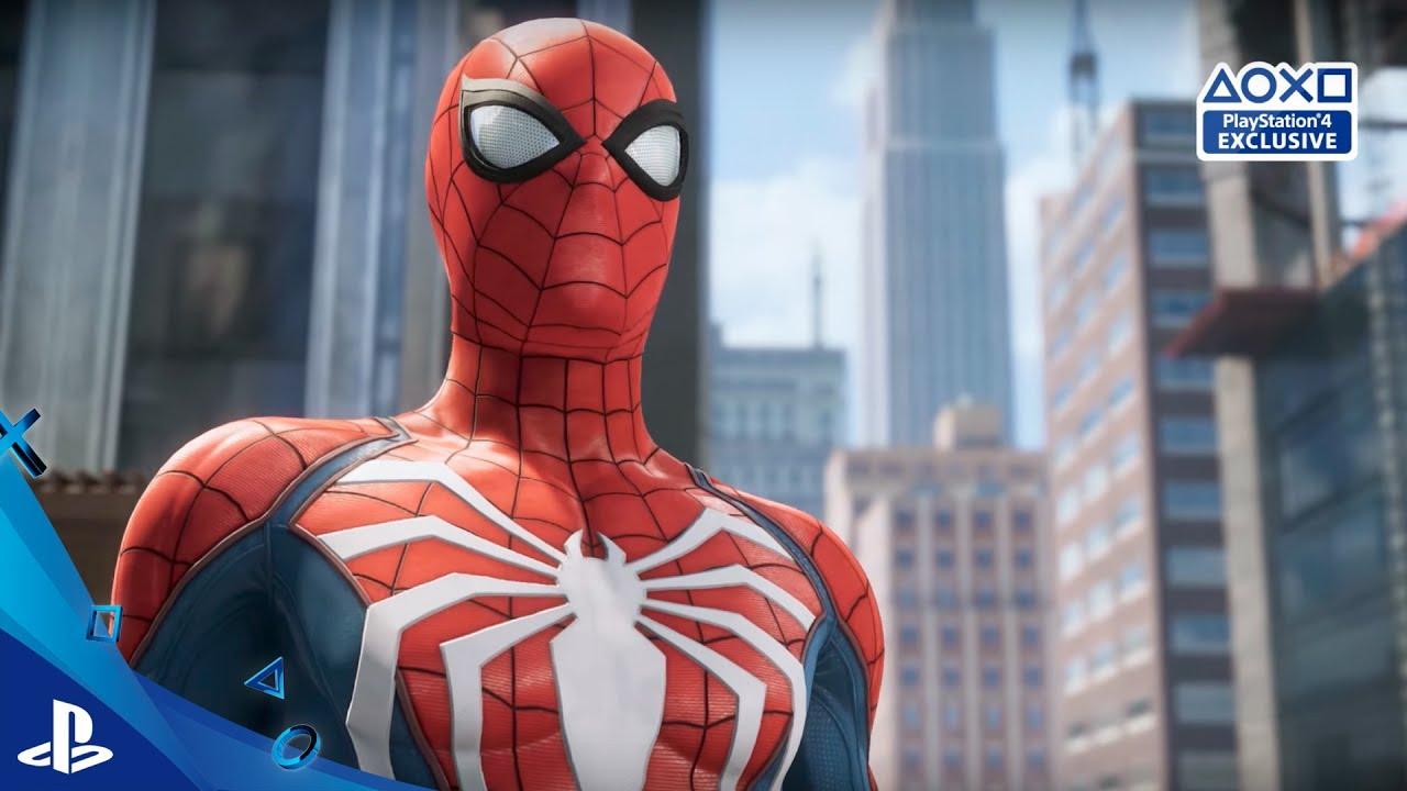 Marvel\'s Spider-Man - Gameplay con subtítulos en Español E3 2017 ...