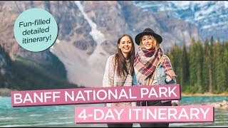 The Ultimate Banff Itinerary: Best of Banff National Park in 4 Days