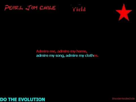 PearlJam Do The Evolution----Lyrics