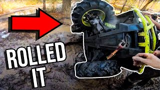 I ROLLED THE CAN-AM! Deep Water FOUR WHEELER RIDING!