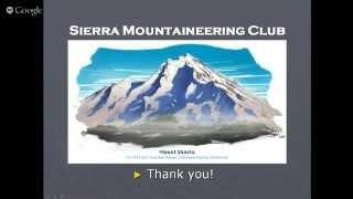 Seminar: Climbing Mt. Whitney
