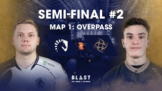 BLAST Global Final Bahrain 2019 - Lower Bracket Final - Team Liquid vs NiP Map 1 (Overpass)