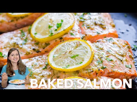 How To Make Baked Salmon with Garlic and Dijon Under 30 Minutes