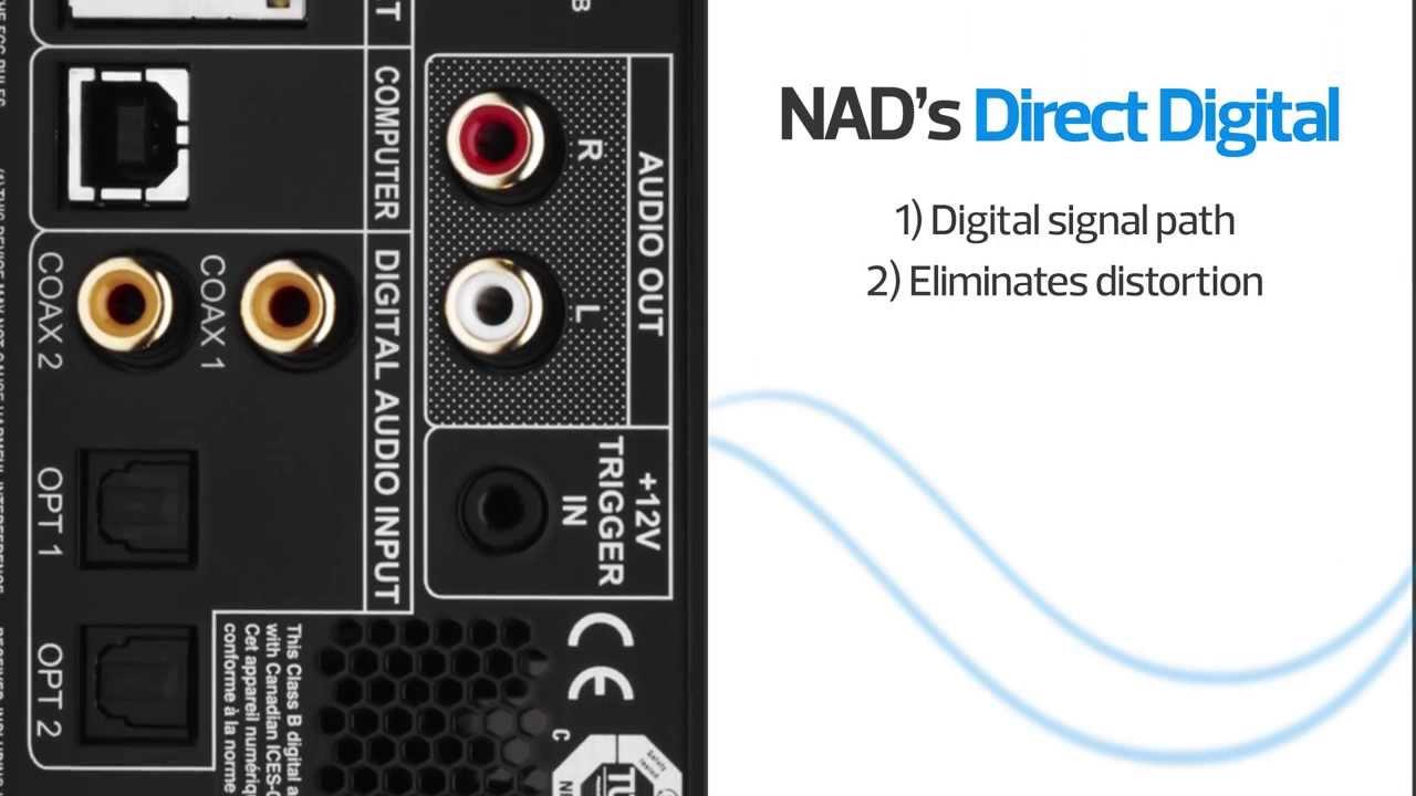 NAD D 7050 Digital Network Amplifier | Crutchfield Video