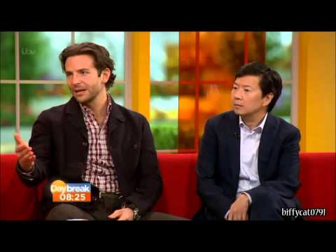 Bradley Cooper and Ken Jeong on Daybreak May 24, 2013 - Interview