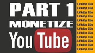 Kesalahan Umum Youtuber Pemula  ( Monetize Youtube dalam 2 Bulan Part 1 )