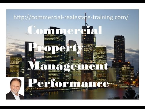 Commercial Property Management Planning and Building Performance