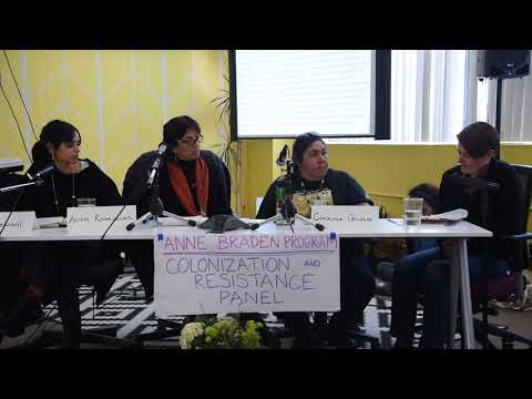 Colonization and Resistance Panel part 1/6
