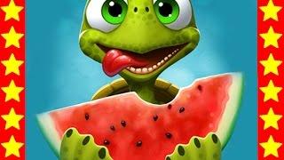 Быстрая черепашка кушает! Детский мультик про черепаху. Мультфильмы про животных для детей.
