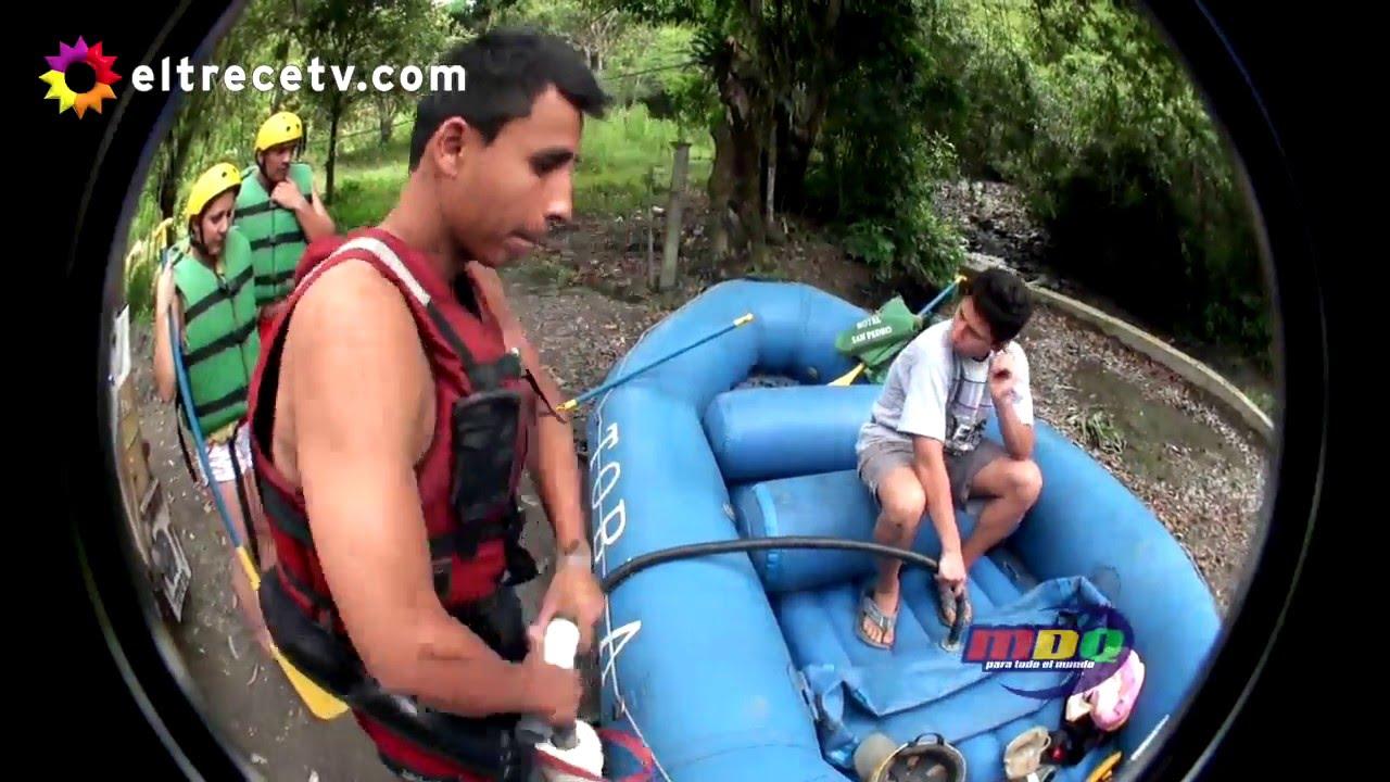 Download Eugenio y Culini hicieron rafting en Colombia y casi termina en tragedia