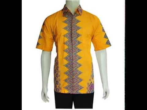 Model Kemeja Baju Batik Pria Modern Terbaru Murah Baju Batik