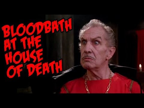 The Fantastic Films Of Vincent Price #82 - Bloodbath At The House Of Death