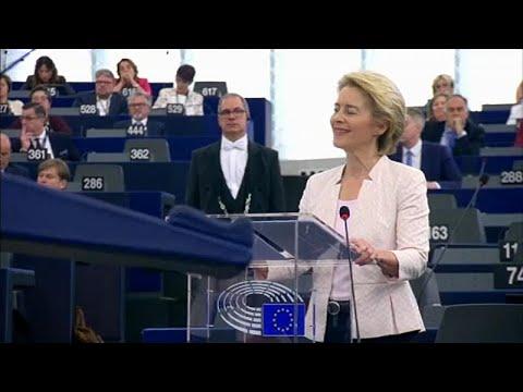 euronews (in Italiano): Ursula Von der Leyen sotto la lente degli eurodeputati a Strasburgo