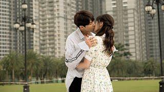 Hari Won không sợ Trấn Thành ghen sau khi hôn say đắm Park Jung Min