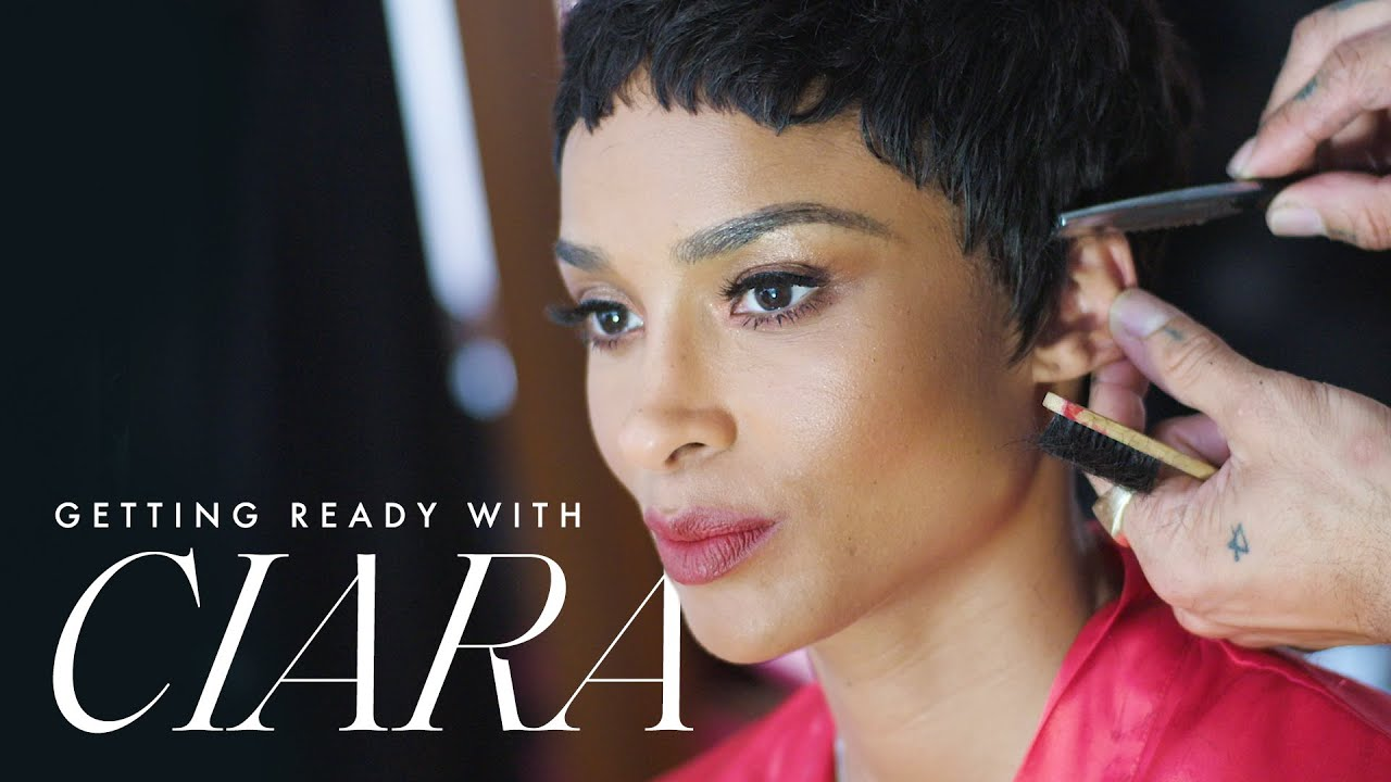 Ciara Goes Short and is Crowned Style Icon at the 2019 ACE Awards | Getting Ready With | ELLE