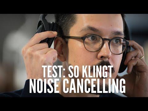 So klingen Noise-Cancelling-Kopfhörer: Geräuschunterdrückung von Bose, Sony & Co selbst hören