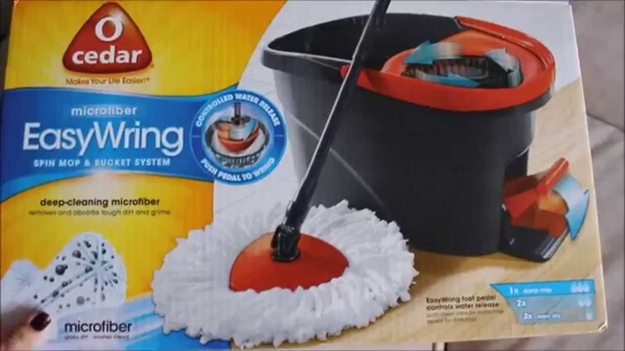 Twist and shout mop review - Easy Wring Spin Mop Review