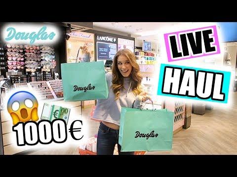DOUGLAS LIVE Haul für 1000€! + VERLOSUNG! ♡ BarbaraSofie