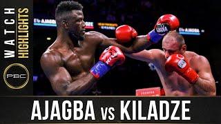 Ajagba vs Kiladze HIGHLIGHTS: December 21, 2019 | PBC on FOX