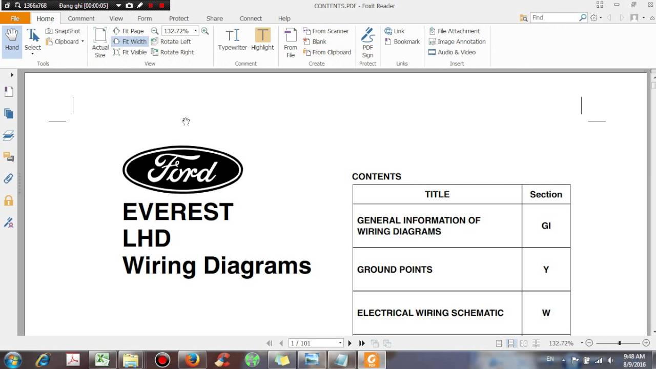 Ford Everest Lhd Wiring Diagrams