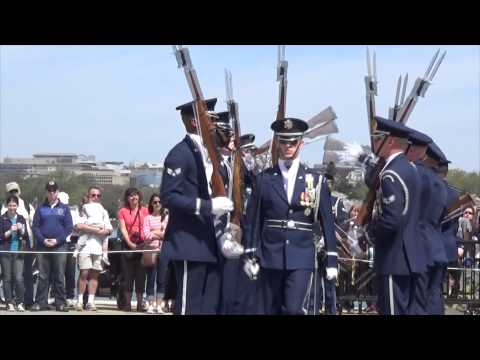 JSDTC | 2014 | United States Air Force | Honor Guard Drill Team | Armed Exhibition
