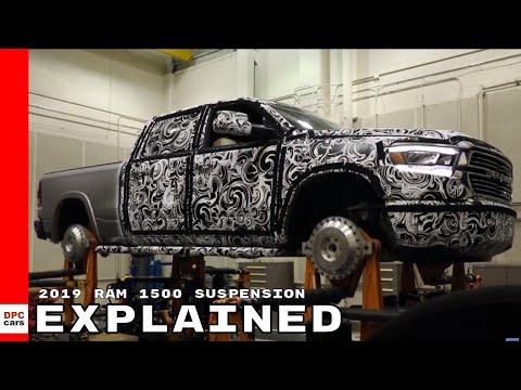 2019 Ram 1500 Shaker Testing Frame & Suspension Explained
