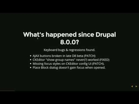 Future Directions for Drupal Accessibility