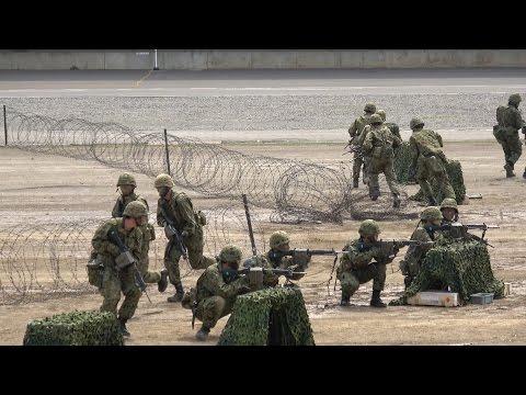 平成29年度 高田駐屯地創設67周年記念行事 模擬戦闘訓練