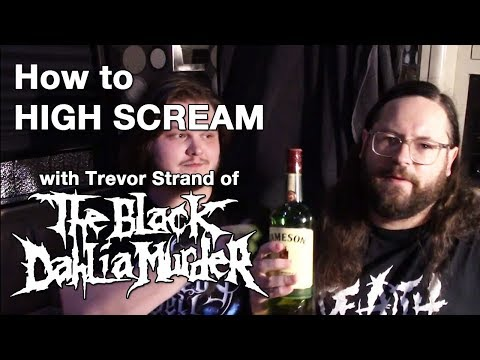 Learn High Screams with THE BLACK DAHLIA MURDER's Trevor Strnad