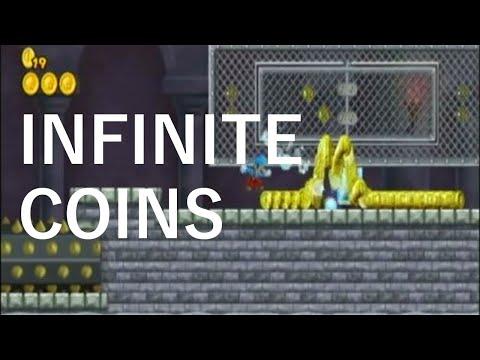 New Super Mario Bros. Wii - Infinite Coin Glitch