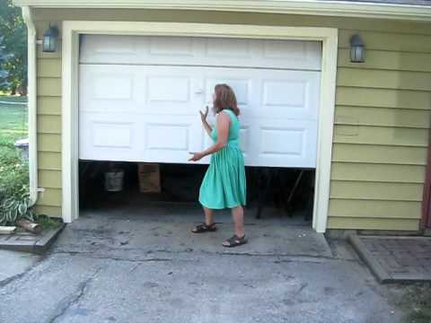 Tim Reidy Shows Off His Newly Installed Garage Clopay Door From Home Depot