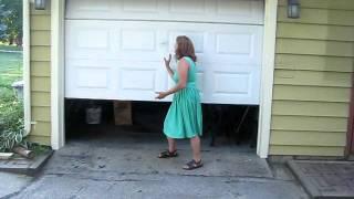 Tim Reidy Shows His Newly Installed Garage Clopay Door Home Depot