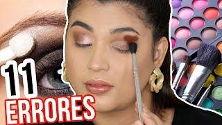 11 errores Que cometes al maquilarte los ojos