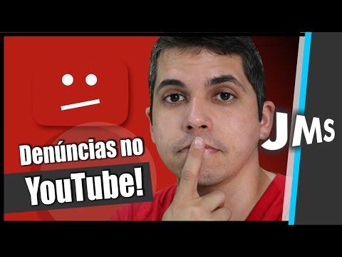 Como Denunciar um Canal um Video um Comentário no YouTube