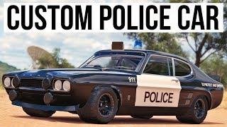 ONE OFF CUSTOM CAPRI POLICE CAR!!! - Forza Horizon 3 (Unique Upgrades)