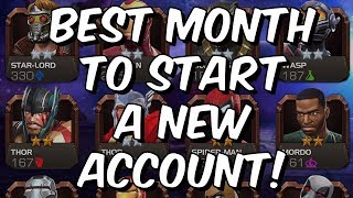 Best Month To Start A New Account! - August 2018 - Marvel Contest Of Champions