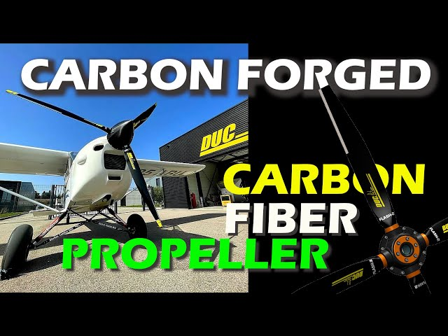 Airplane Propellers - Carbon Fiber - Factory Tour - DUC Propellers