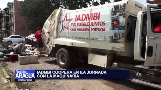 Activado plan para la recolección de desechos en municipio Mario Briceño Iragorry 18/10/2014