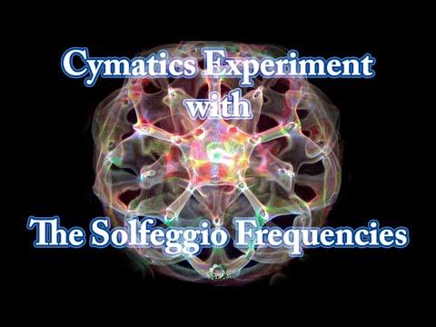 Cymatics / Cimatica - Experiment 16 (432 Hz)