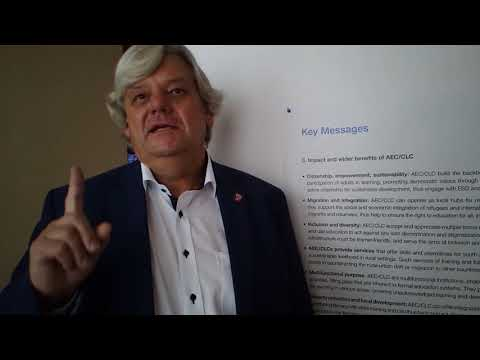 Adult Education and Development Conference, Tbilisi, October 2017 Interview with Bernd Müller