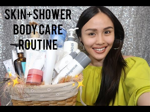 MY SKIN+SHOWER+BODY CARE ROUTINE (dermalogica, LANEIGE, skin type dry to normal)