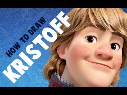 how to draw kristoff from frozen youtube