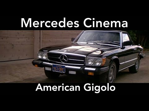 Mercedes Cinema - American Gigolo - Opening Sequence with a Mercedes 450SL R107