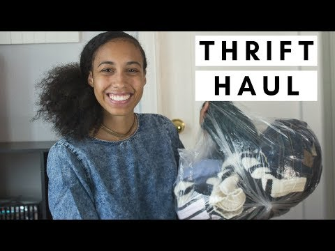 Garment District Thrift Haul + Try On