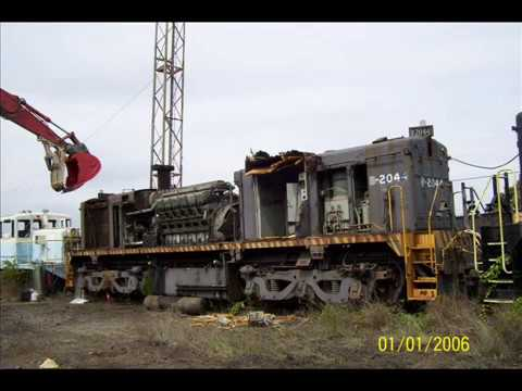 Locomotives During Demolition [HQ]