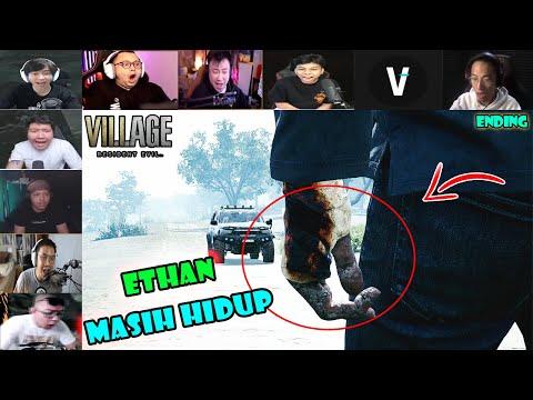 REAKSI GAMER NGELIHAT ETHAN MASIH HIDUP ~ Resident Evil Village 8 Indoesia Ending