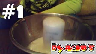 CHÉMICKÉ POKUSY DOMA - #1: Ocet + Jedlá Soda [CZ]